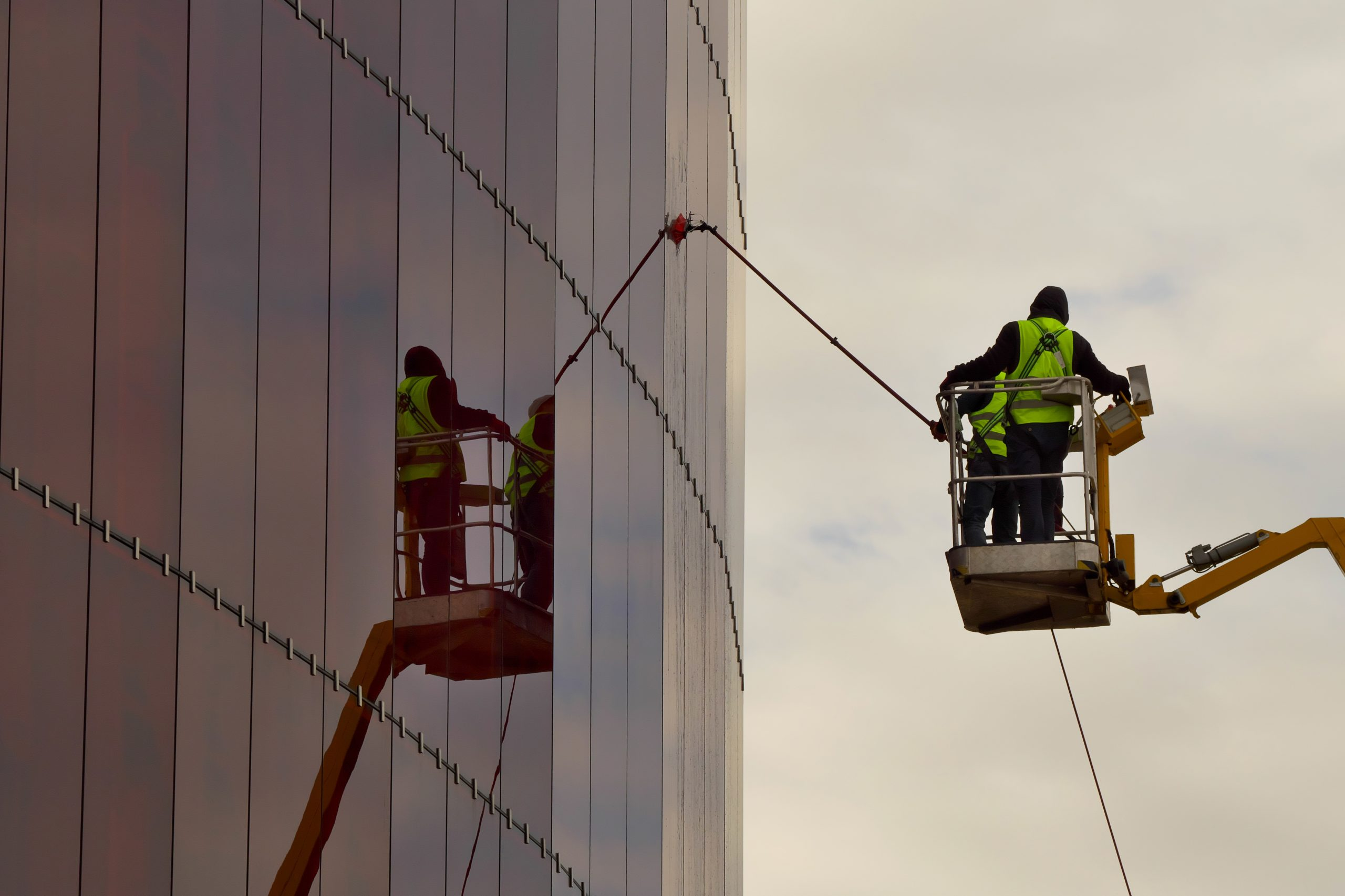 Rope Access Window Cleaning South Yorkshire   Rope Access Cleaning Services